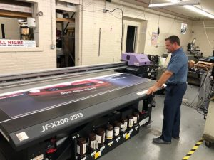 wide format printing banners