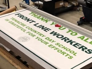Wide format banners